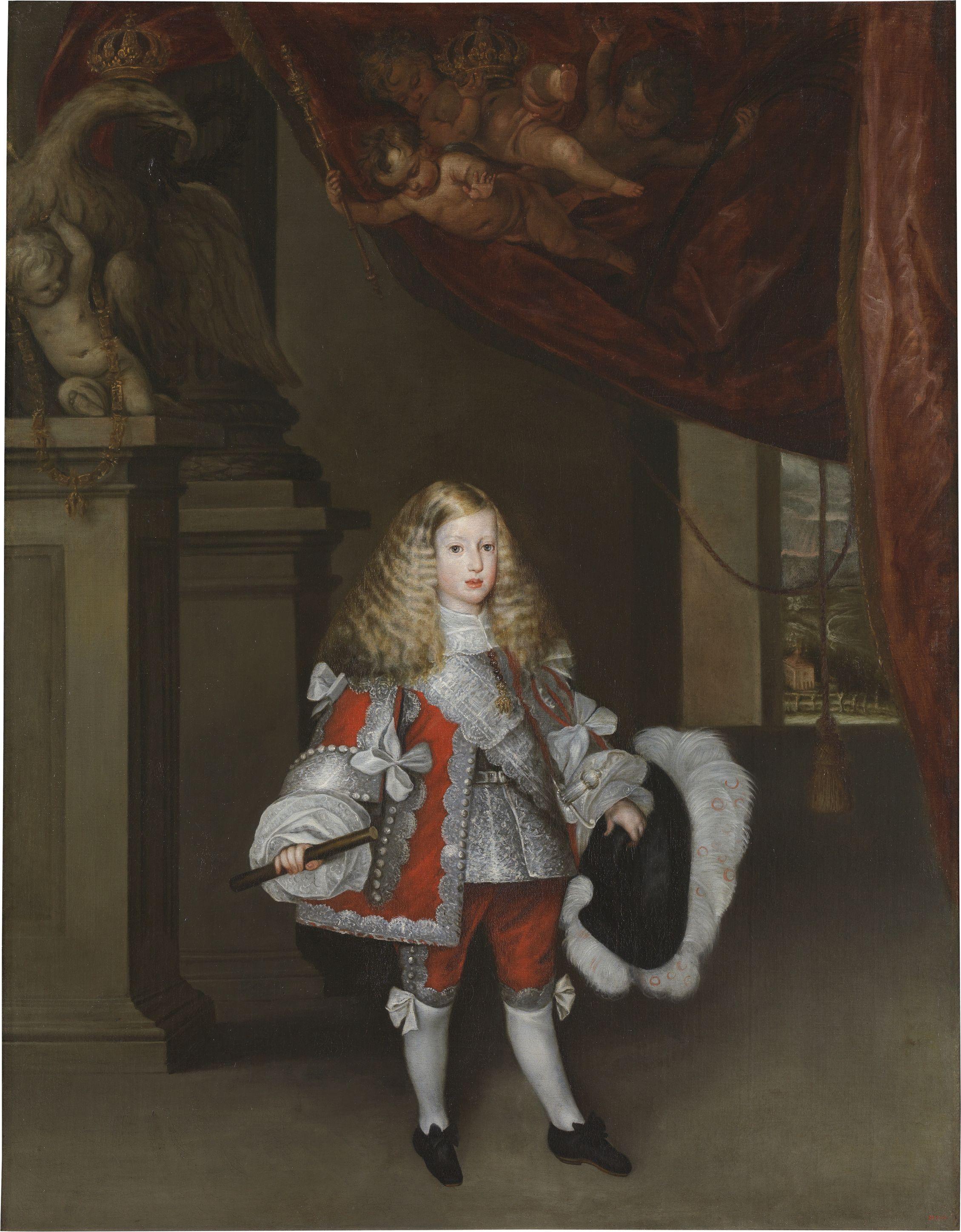 Carlos Ii Ni.sebasti De Herrera Barnuevo 1670 Moda