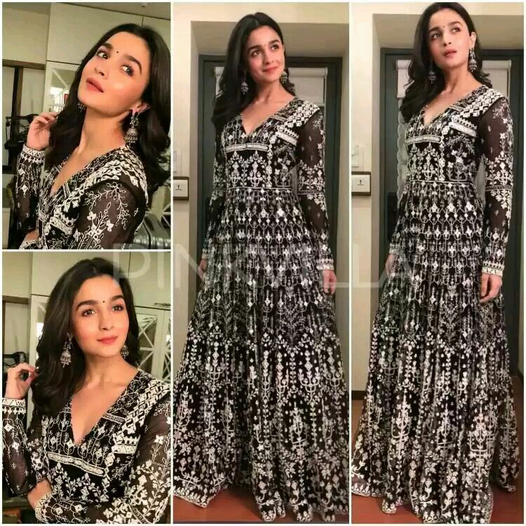 2a7d95151d8 Bollywood actress Alia bhatt in Anita Dongre yay or Nay