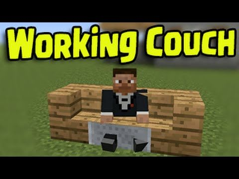 Minecraft Ps3 Ps4 Xbox Wii U Working Couch And Chair How To Sit Down Minecraft Wii U Xbox