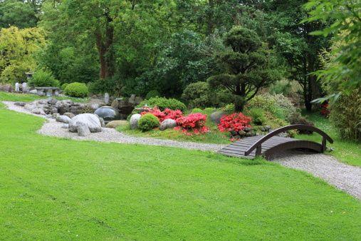 Japanese Rock Garden | When planning a Japanese rock ...