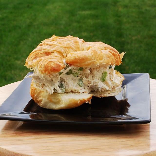 Delightful Nourishment: Chicken Salad Sandwiches Click for Recipe!