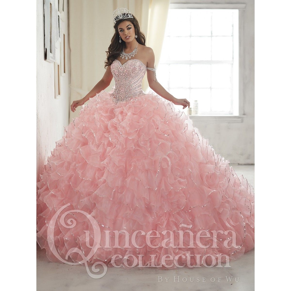 New | Style 26845 - Quinceanera Collection | 2017 quincenera line ...