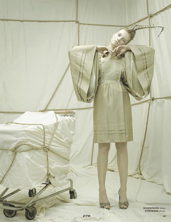 wrapped, fashion photography by Christopher Kolk