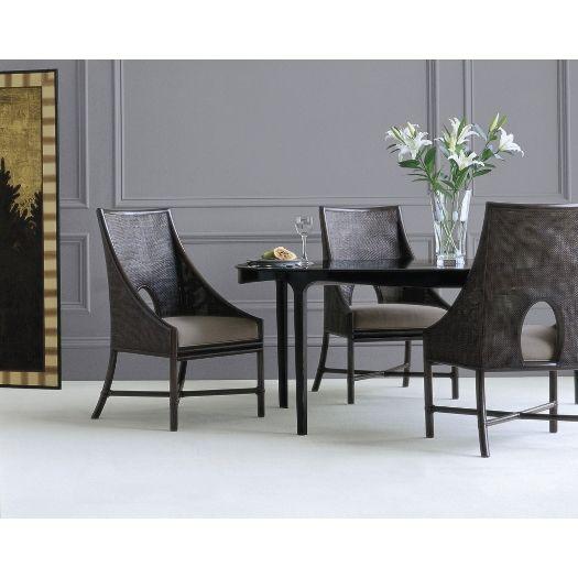 barbara barry caned arm chair chaises salle a manger verte chaises de salle
