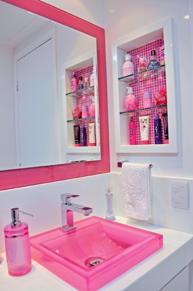 Rosa Badezimmer 60+ Designs & Dekoration Fotos ...