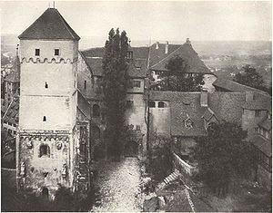 Nurnberger Burg Kaiserburg Mit Heidenturm Und Doppelkapelle Ende Des 19 Jahrhunderts Nurnberg Nuremberg Ger Bayern Deutschland Nurnberg Historische Bilder