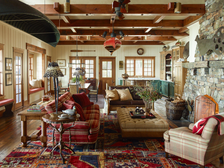 Montana Fishing Lodge By Juan Montoya Design Lookbook Dering