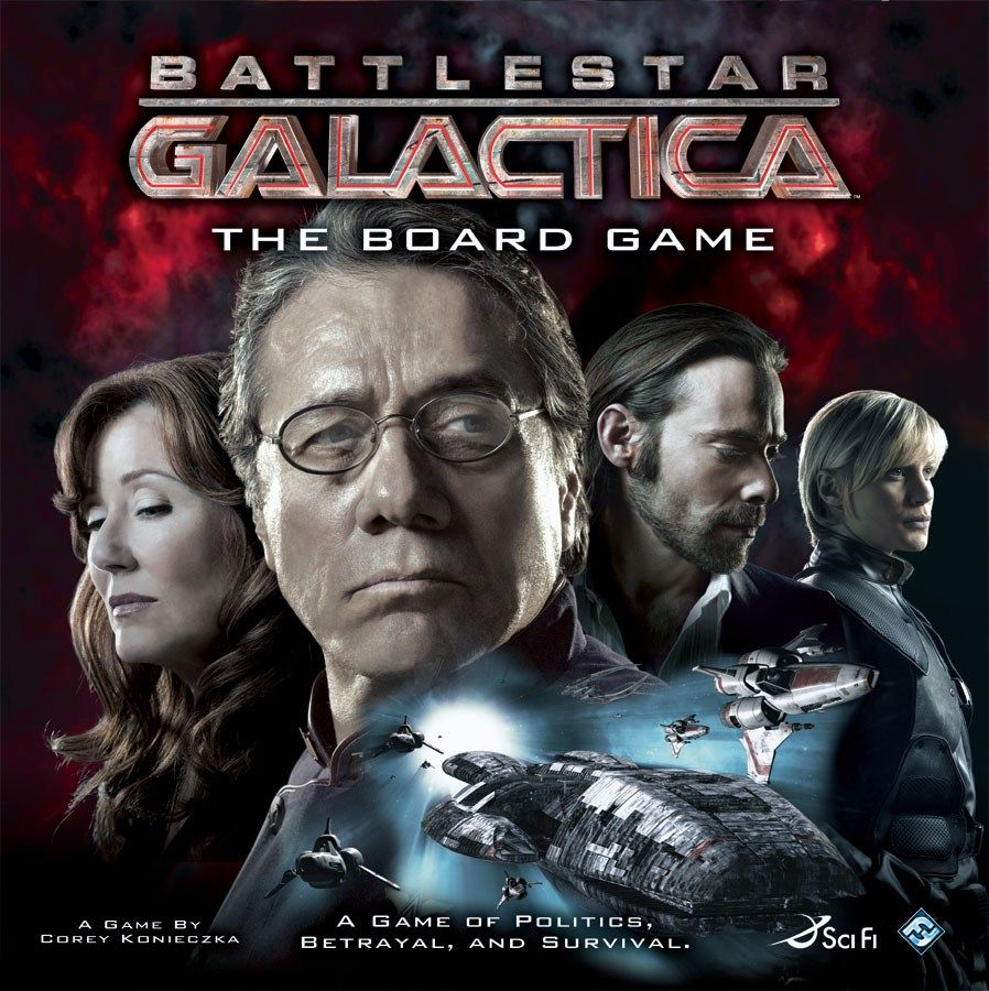 Eat Your Dice with Battlestar Galactica The Board Game