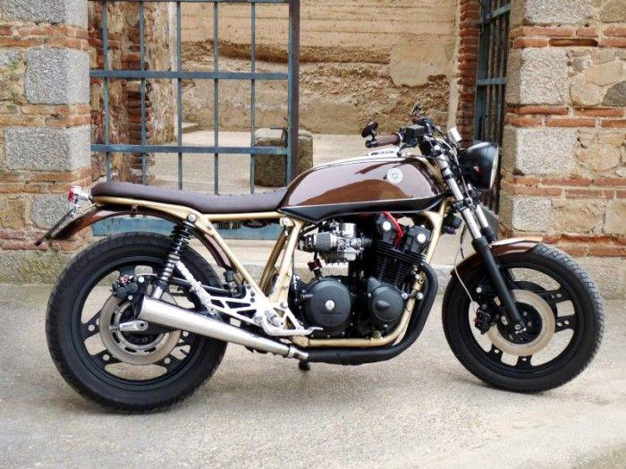 honda cb900fmotobike badajoz's - featured on the bike shed