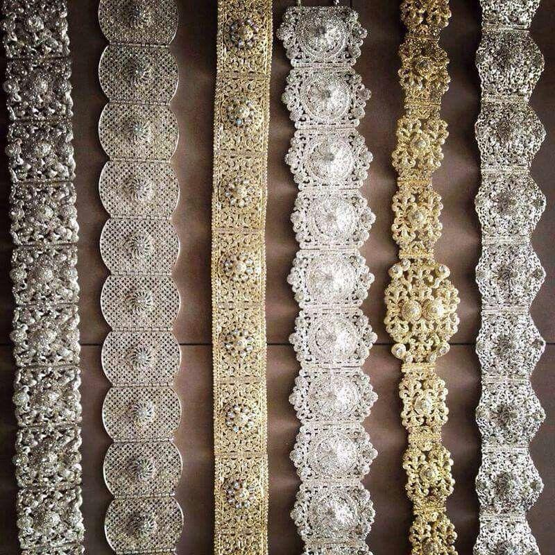 Ceintures. ..Belt.....Morocco   Moroccan Takchitas-caftans and ... 44e7e88724a