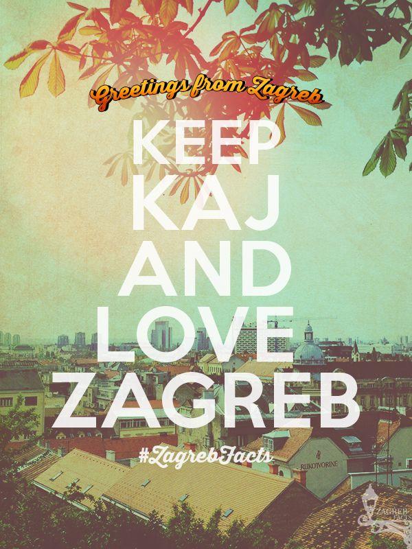Volimo Zagrebfacts Zagreb Zg Agram Keepcalm Kaj Wallpaper Zagreb Vintage Travel Posters Travel Posters