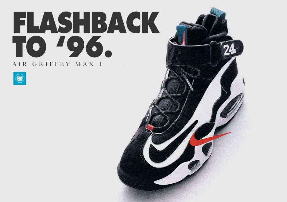 wholesale dealer 4aa32 a0b3d History of the Nike Air Griffey Max, Ken Griffey Jrs first signature  sneaker.