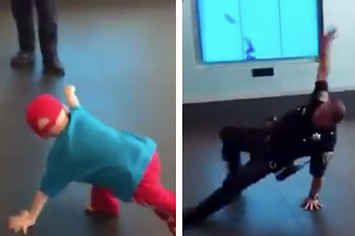 Watching A Cop Challenge A Boy With Cancer To A Dance-Off Will Restore Your Faith In Humanity