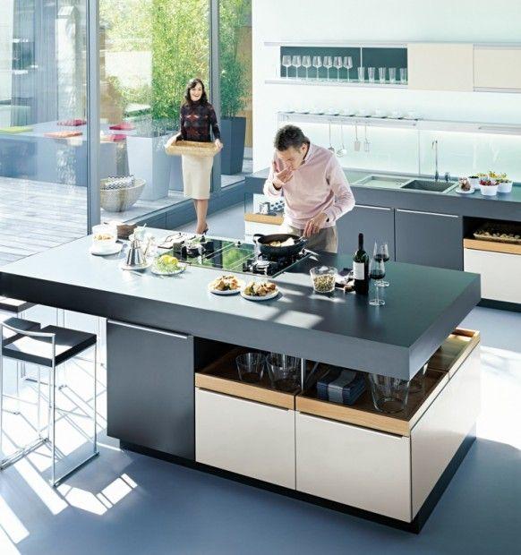 Cocinas del fabricante alemán Poggenpohl | Diseño de cocina moderno ...