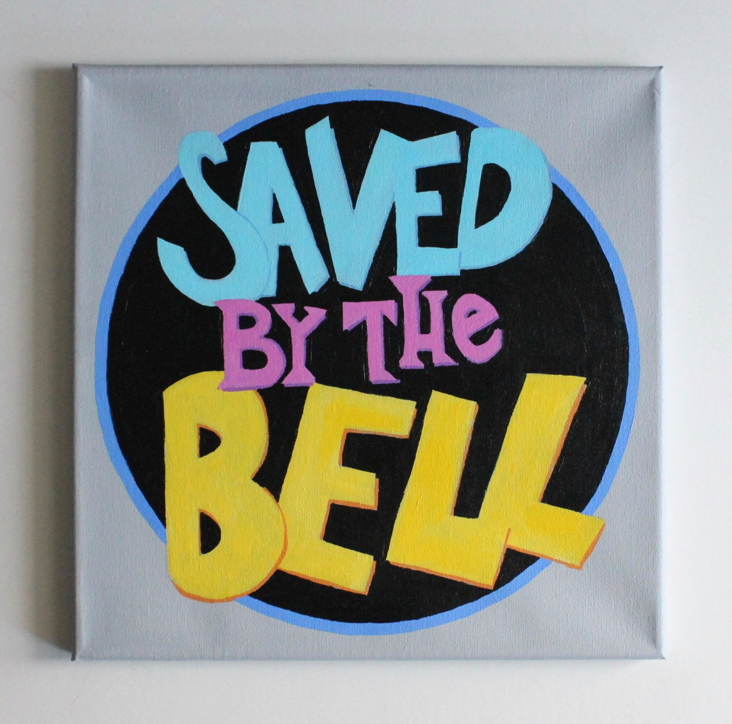 Saved By The Bell, Tv Show, Logo Art, 80S, 90S,