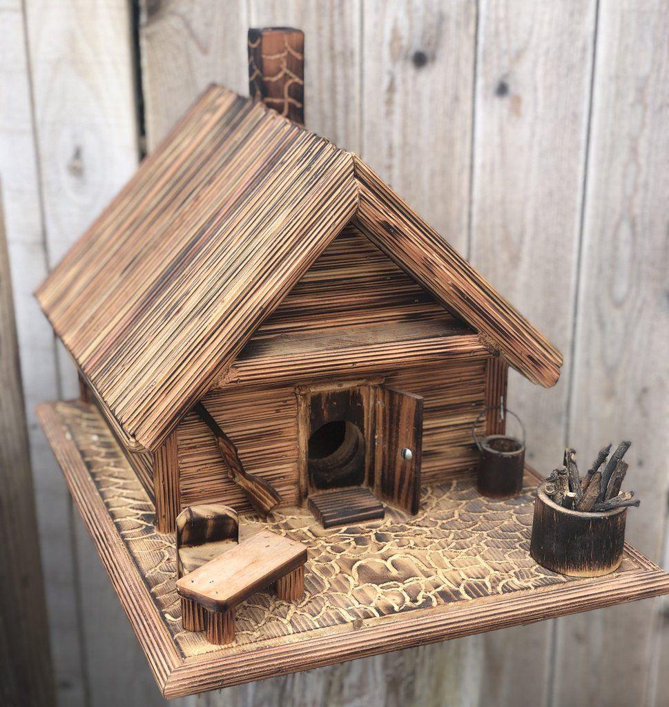 Western Wooden Birdhouse