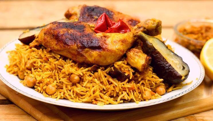 أكلة شهية ومتكاملة أرز بخاري بالدجاج على الطريقة السعودية Food Chicken Meat