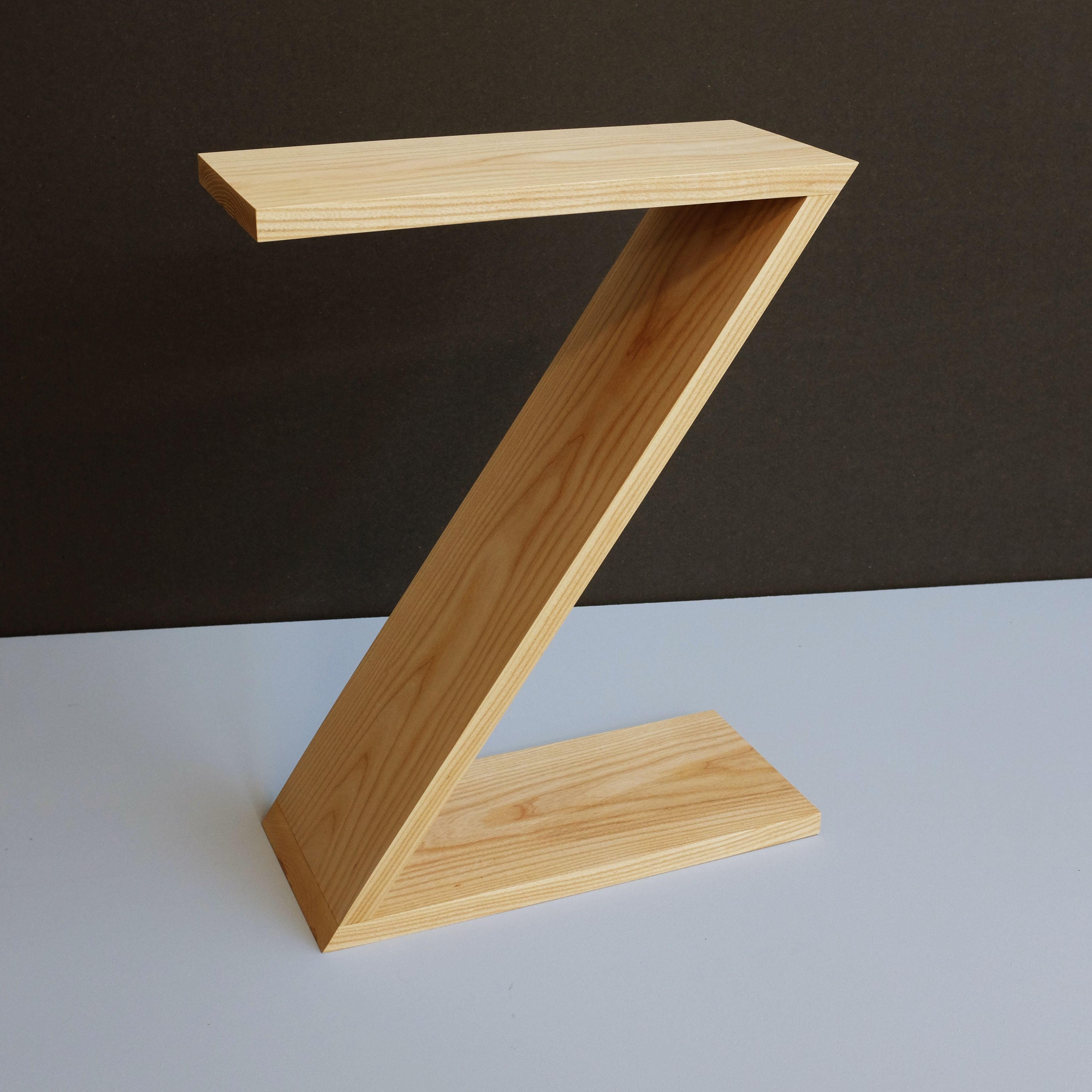 Zedside table a funky bedside table in solid ash make a statement zedside table a funky bedside table in solid ash make a statement in the watchthetrailerfo