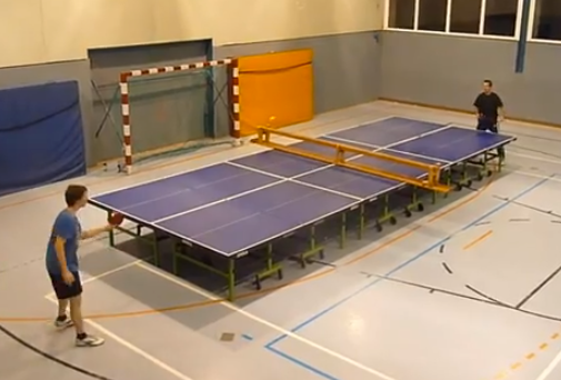 Biggest Ping Pong Table In The World
