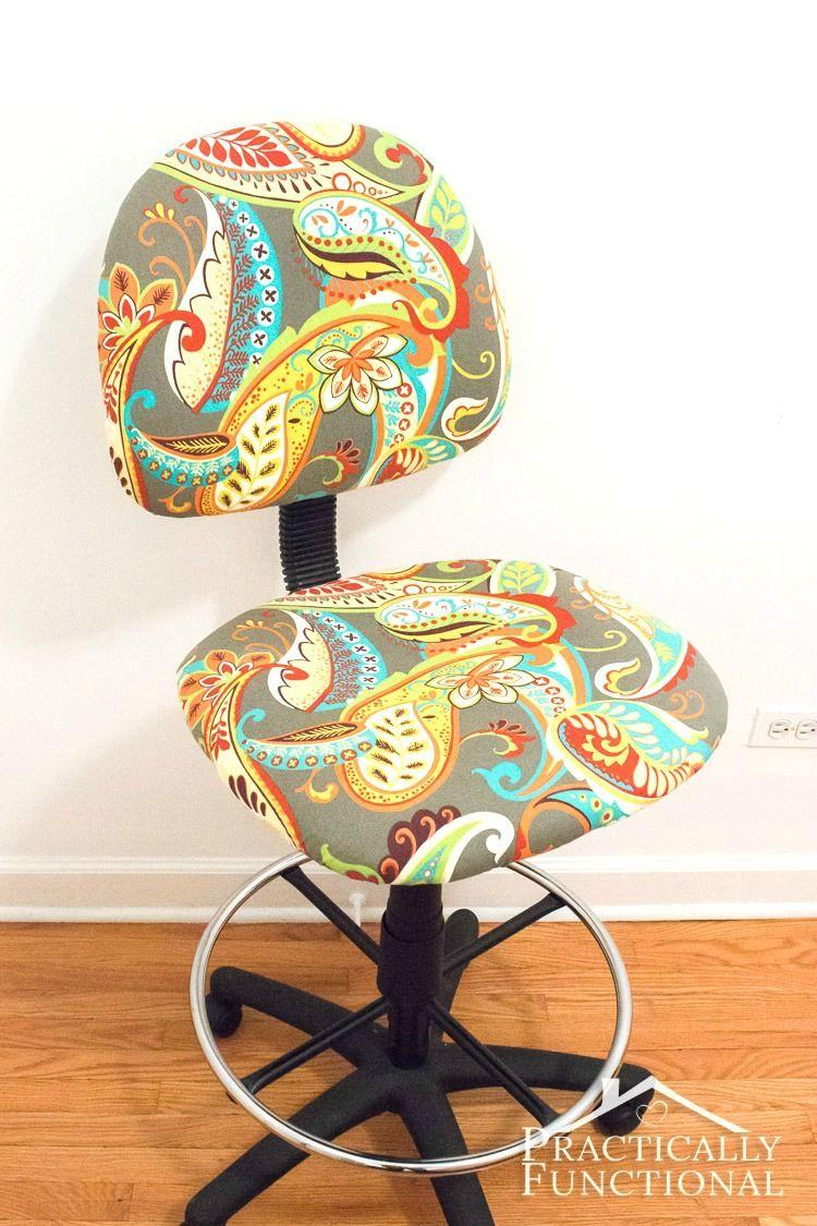 Reciclar silla de oficina