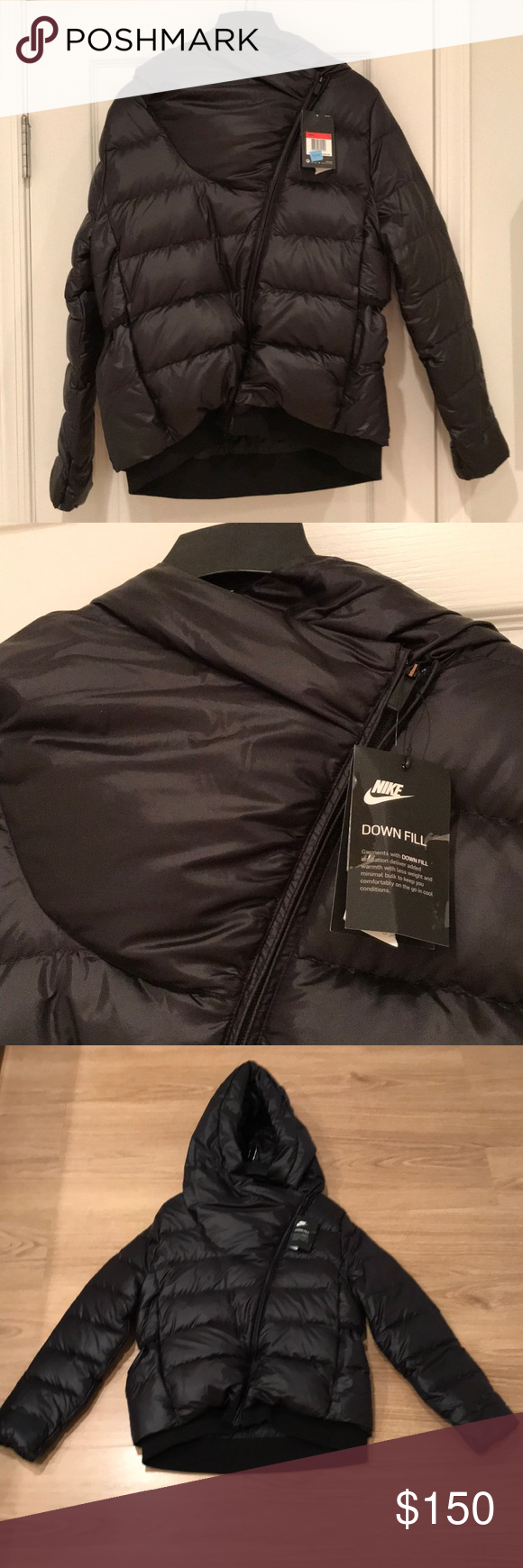 18a1e7467db8 New Women Black winter ❄ 🧥 jacket NIKE size L❄ New Women jacket 🧥 NIKE  size L winter❄ 🧥🎈NO TRADE🎈 Nike Jackets   Coats Puffers