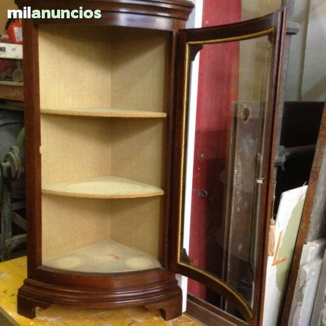 Mil Anuncios Com Mueble Esquinero Vidrio Curvo