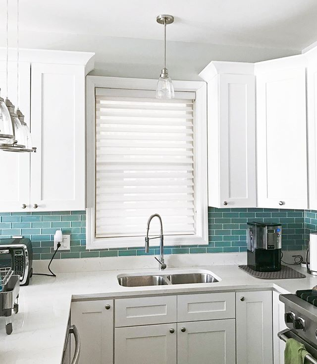 Window Treatments Interiordesign: Bright Airy! The Perfect Kitchen Is Never Complete Without
