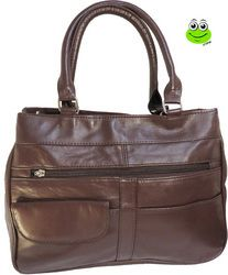 Luxurious Soft Leather Shoulder Bag