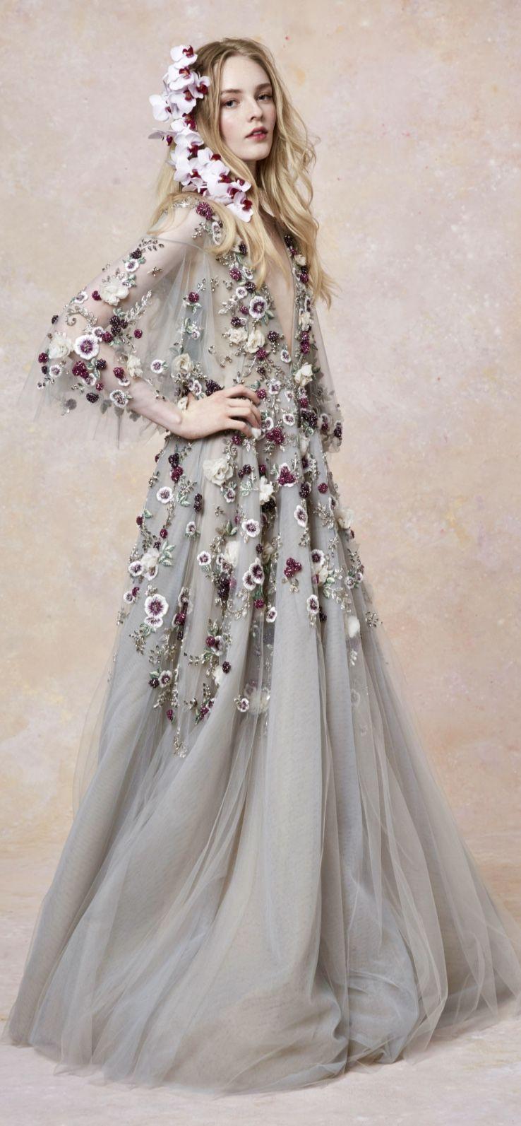 c654335d17 Marchesa spring 2019 | Fabulous Fashion | Fashion, Couture dresses ...