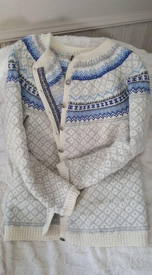 7a3a1e4e Røverkofte | strikk | Strikkeoppskrift genser, Genser og Gensere