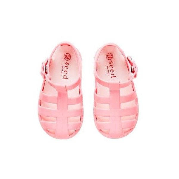 Jelly Sandals ❤ liked on Polyvore featuring shoes, sandals, studded jelly sandals, buckle shoes, studded shoes, buckle sandals and studded sandals