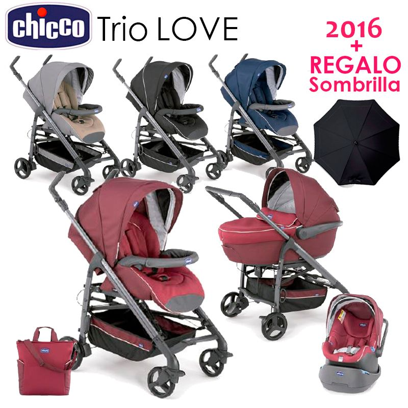 trio love kit car chicco 2016 regalo sombrilla chicco pinterest kit cars and babies. Black Bedroom Furniture Sets. Home Design Ideas