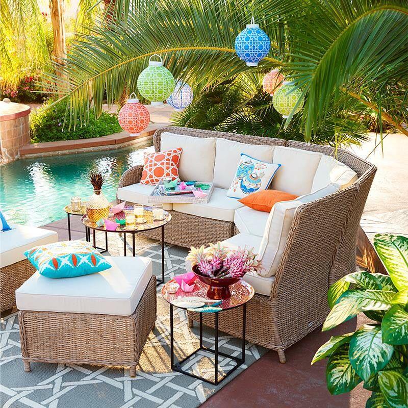 Pier Outdoor DIY Pinterest Pool Spa And Patios - Pier 1 outdoor coffee table