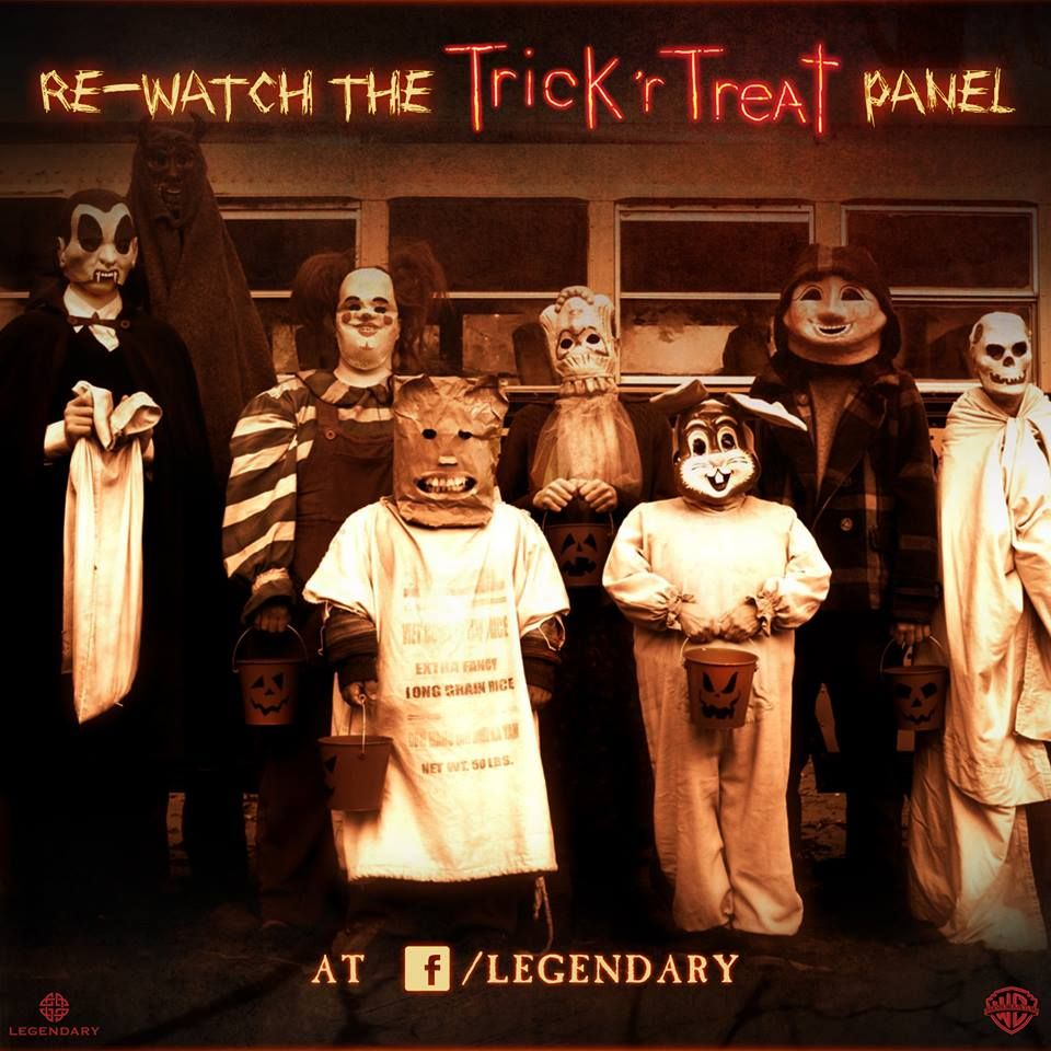 Trick R Treat 'bus Kids'