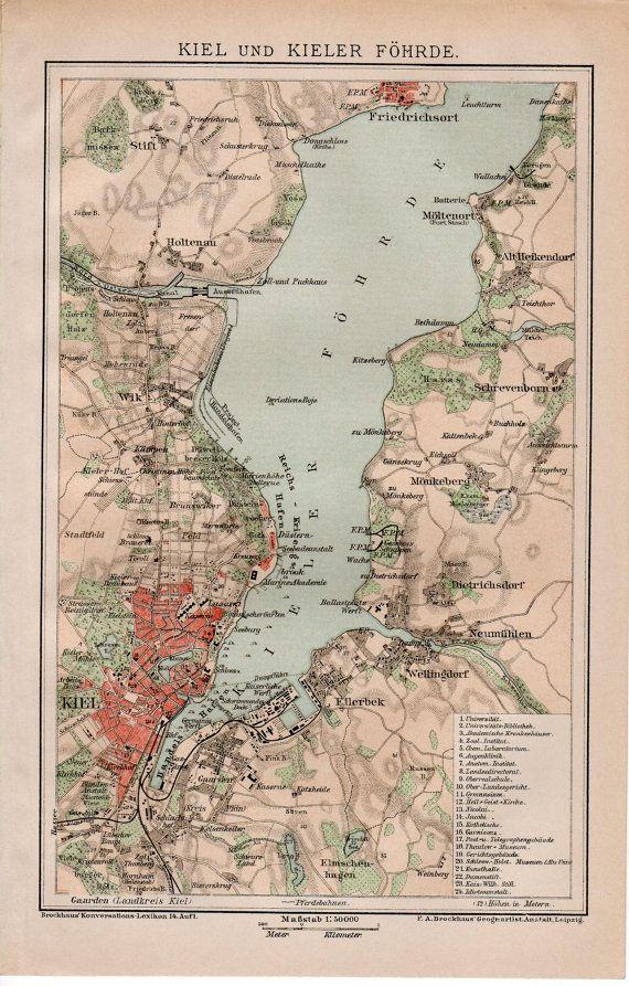 Germany Map Kiel