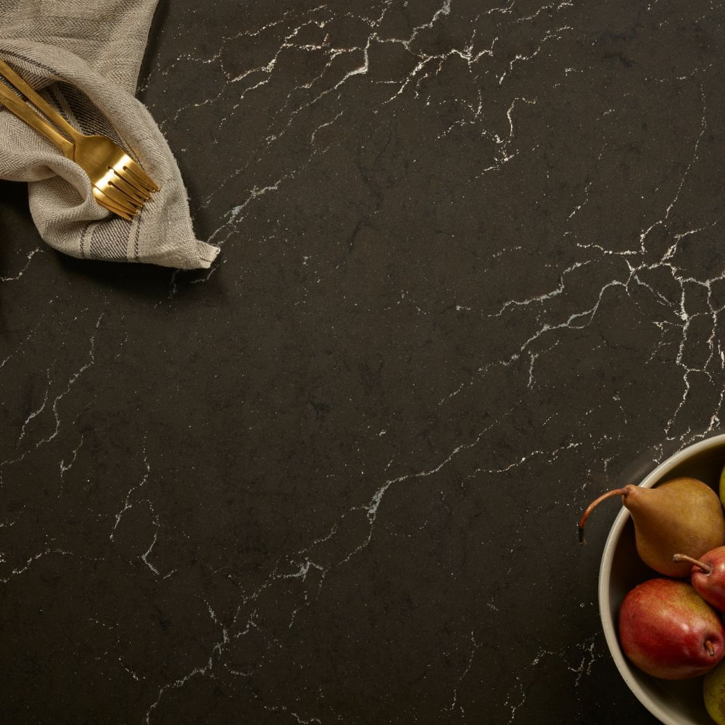 Cambria***Charlestown ™ Black Marble Collection ™ in
