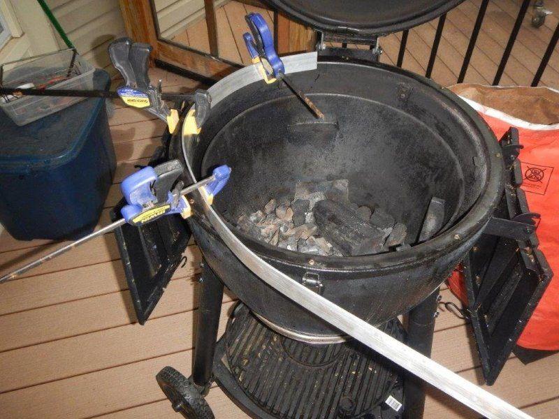 Diy Akorn Rotisserie Do It Yourself Kamado Guru Kamado Grill Recipes Kamado Grill Rotisserie