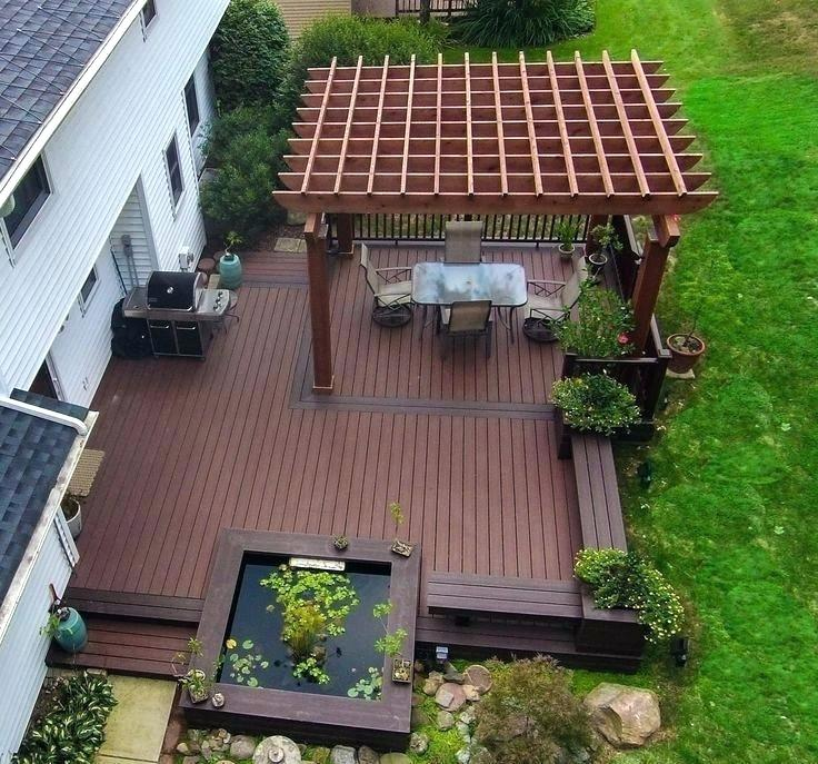 Build A Low Deck On The Ground House Decks Designs Bold