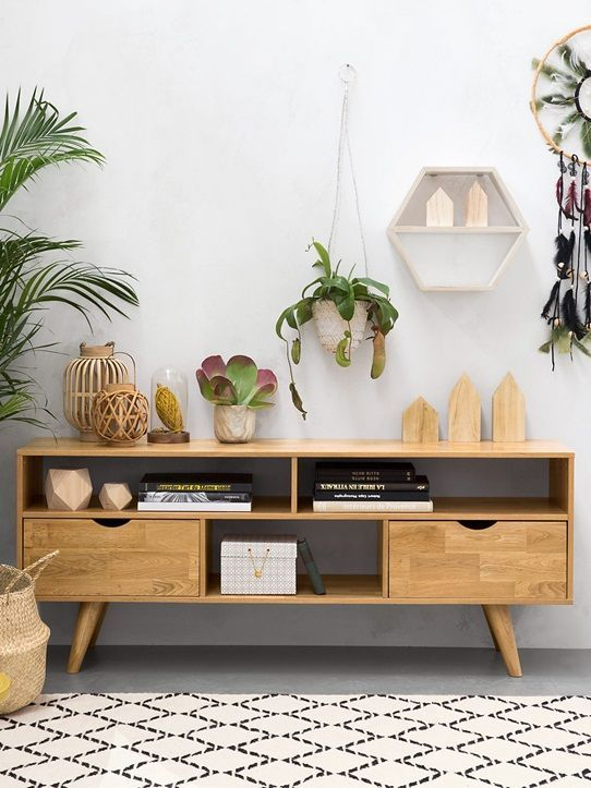 Sideboard display ideas transformer un meuble Pinterest
