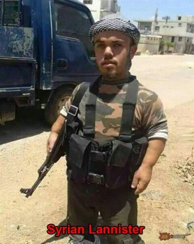 Syrian Lannister #humor #funny #GoT #gameofthrones #tyrion