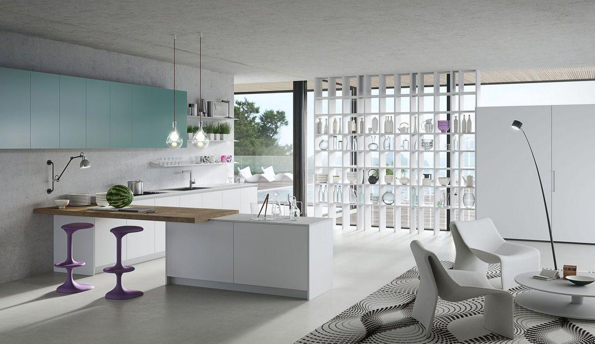 Moderne Küche / Holz / Laminat / L Förmig   KARAN   RASTELLI