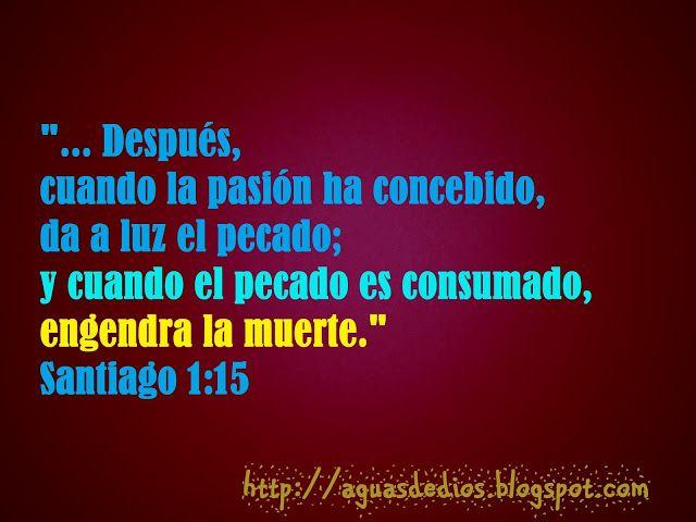 """Compartamos la Palabra de Dios: """"... Después, cuando la pasión ha concebido, da a ..."""