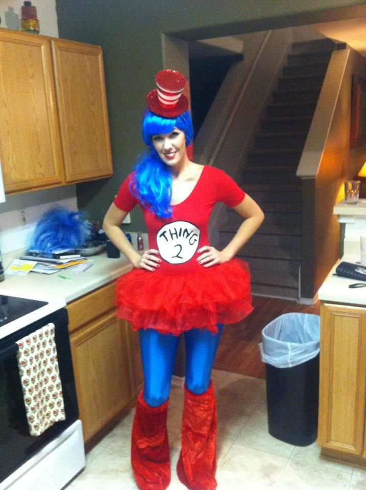 thing 1 and thing 2 halloween costumes diy google search - Thing 1 Thing 2 Halloween Costume