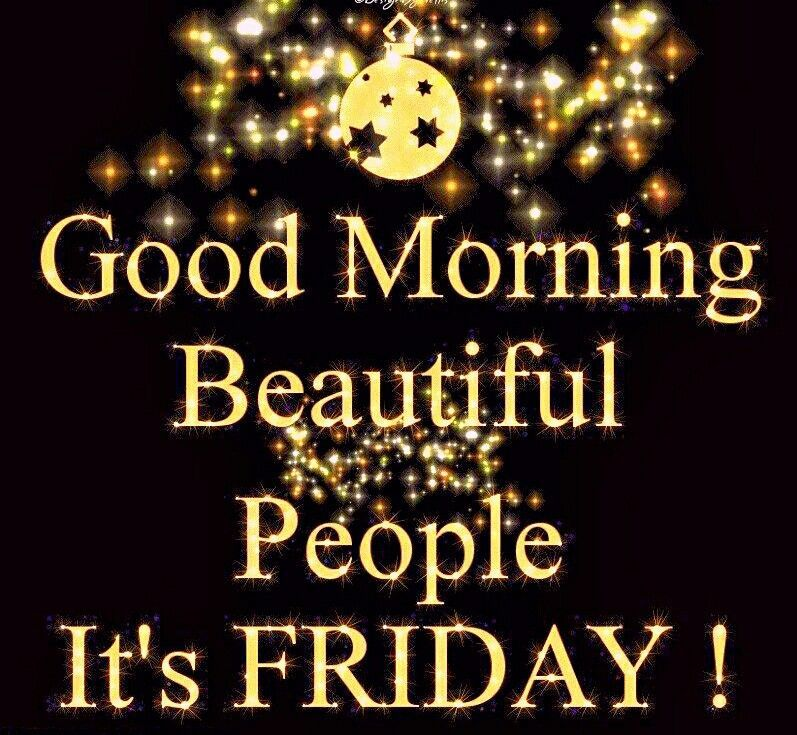 Good Friday Picture Quotes: Good Morning Beautiful People Its Friday