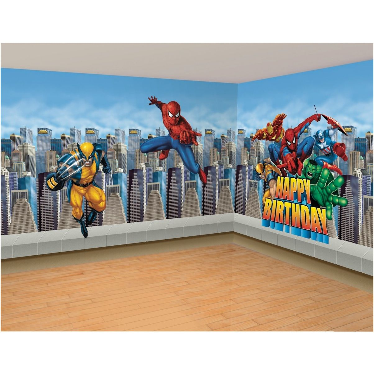 Marvel Themed Room Extraordinary Marvel Super Hero Bedroom Wall Decal Ideas  My Favs  Pinterest Design Inspiration