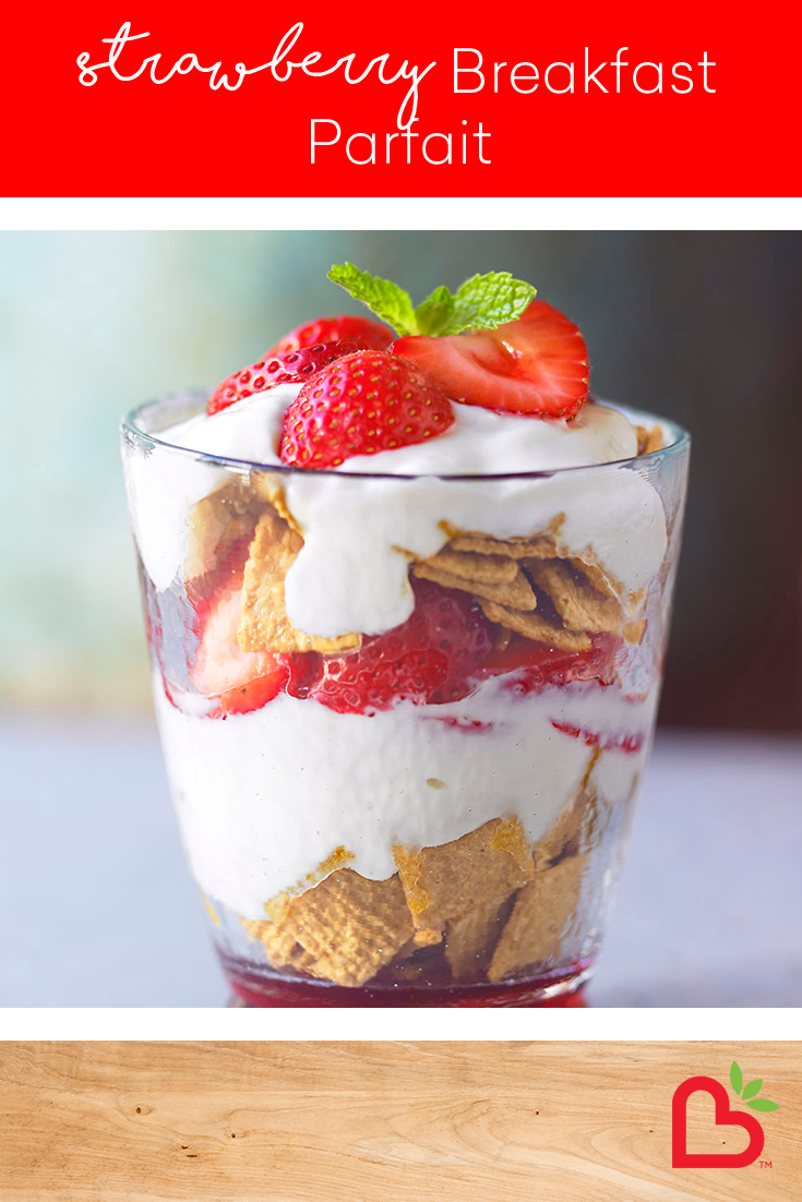 Strawberry Breakfast Parfait Recipe California Strawberries Recipe Parfait Recipes Breakfast Parfait Recipes Breakfast For Kids