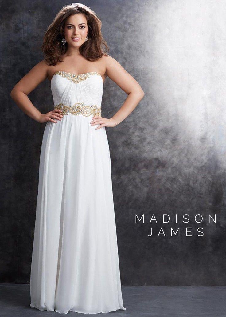 Nice Evening Dresses Plus Size Madison James 15 212w Glitzy Chiffon