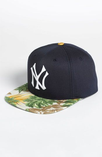 American Needle New York Yankees Visor Trip Baseball Cap Nordstrom Very Cool Way To Spice Up A Plain Yankees Cap Nordstrom Hats Cap American Needle