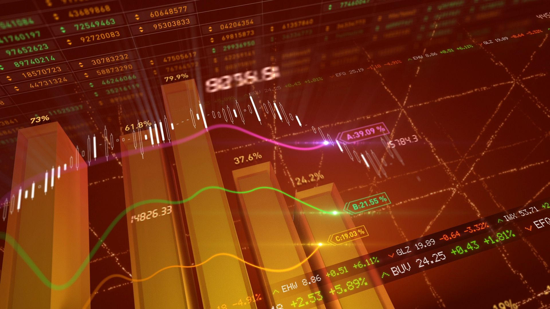 Abstract Business Stock Market Data Animation With Generic Corporate Data Stock Footage Market Data Stock Abstract Stock Market Data Stock Market Marketing