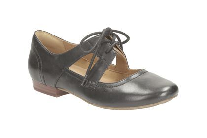 Flate fine sko